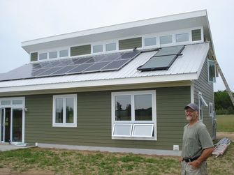 Small solar homes plans home design and style for Renewable energy house plans